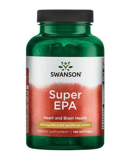 swanson Super EPA / 100 Softgels
