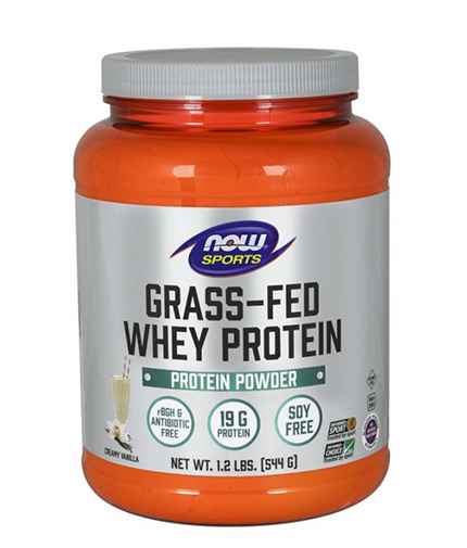 now Grass-Fed Whey Protein