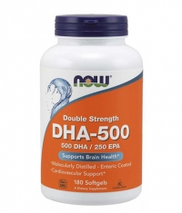 NOW DHA 500mg / 180 Softgels