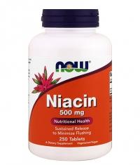 NOW Vitamin B-3 (NIACIN) 500mg / 250 Tabs