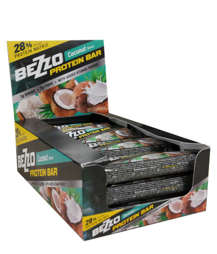 bezzo Protein Bar NO Sugar Box / 12x60gr