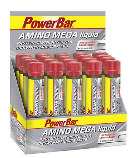 powerbar Amino Mega Liquid / 20x25ml
