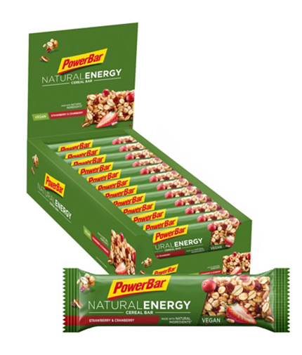 powerbar Natural Energy Bar Box / 24x40gr