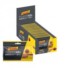 POWERBAR PowerGel Shots / 16x60gr