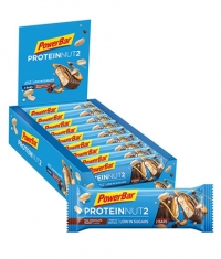 POWERBAR Protein Nut2 Bar Box / 18x2x22.5gr
