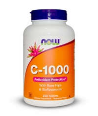 NOW Vitamin C-1000 /Rose Hips/ 250 Tabs.