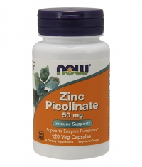 NOW Zinc Picolinate 50mg. / 120 Caps.