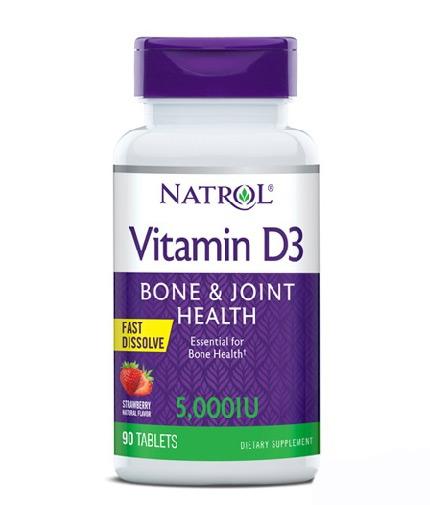natrol Vitamin D3 5000IU Fast Dissolve / 90 Tabs