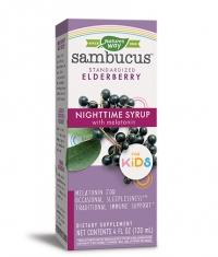 NATURES WAY Sambucus for Kids Night Time Syrop / 120ml.