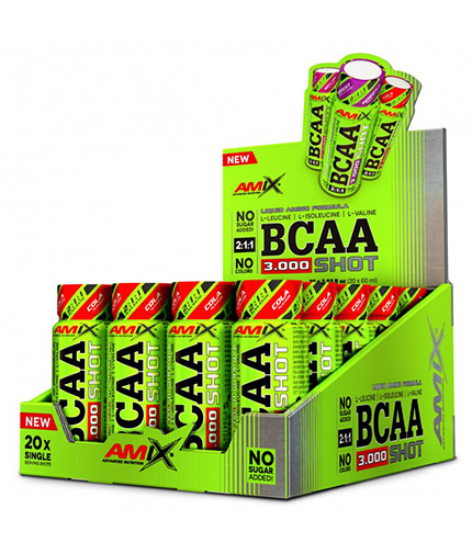 AMIX BCAA Shot Box / 20x60ml
