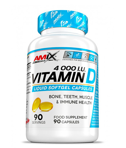 AMIX Vitamin D 4.000 I.U. / 90 Softgels