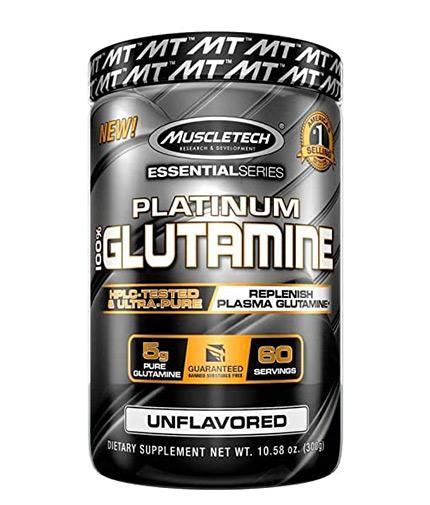 muscletech Platinum 100% Glutamine / 60serv.
