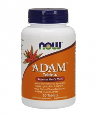 NOW ADAM  Superior Men's Multiple Vitamin 60 Tabs.
