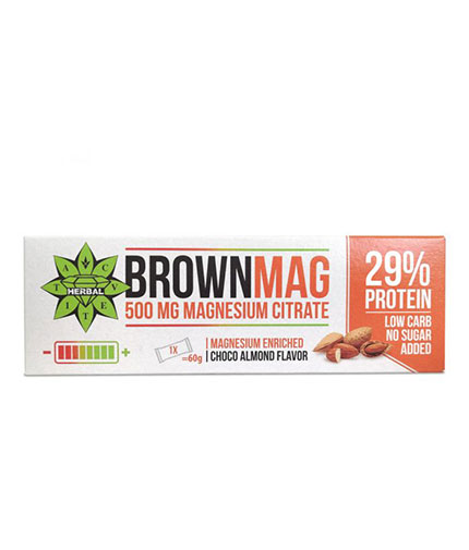 cvetita-herbal BrownMag Bar Almond / 60g