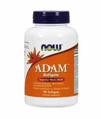 NOW ADAM™ Superior Men's Multiple Vitamin 90 Gels.