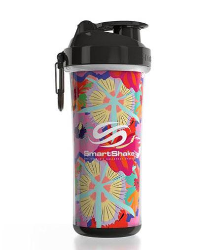 smart-shake Double Wall 750ml / Flower Power