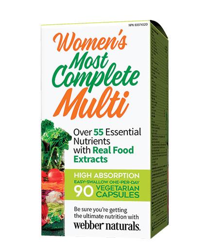 webber-naturals Women's Most Complete Multi / 90 Vcaps