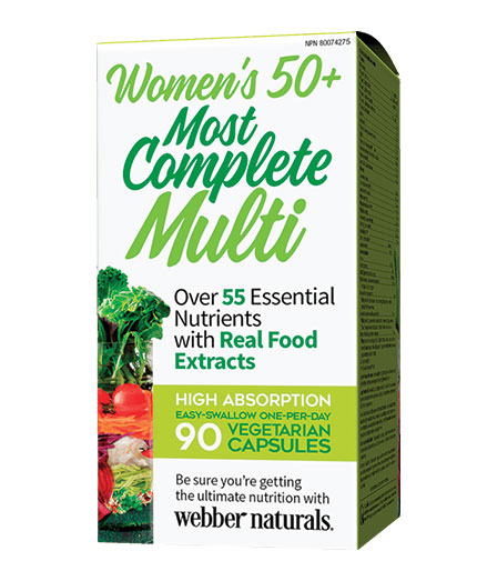 webber-naturals Women's 50+ Most Complete Multi / 90 Caps