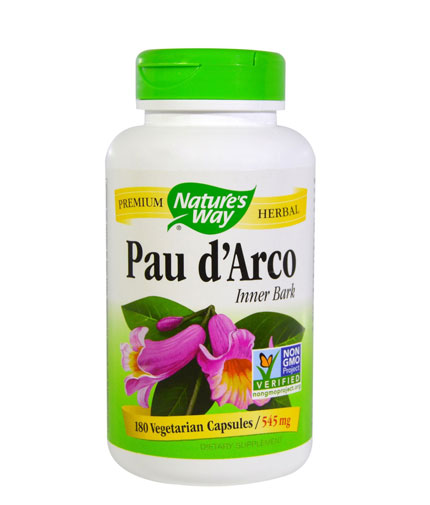 natures-way Pau d'Arco Inner Bark 545mg / 180 Caps
