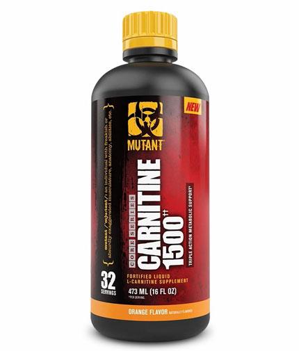 mutant Liquid Carnitine 1500mg / 473ml