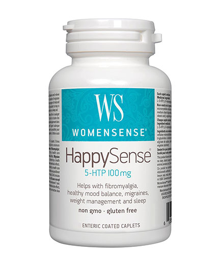 natural-factors WomenSense HappySense 100mg / 60 Caps