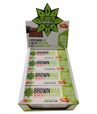 CVETITA HERBAL BrownMag Bar Peanut Box / 12x60g