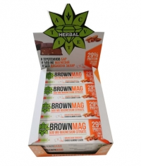 CVETITA HERBAL BrownMag Bar Almond Box / 12x60g