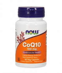NOW CoQ10  100mg. / 30 VCaps.