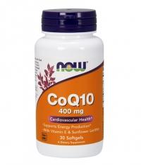 NOW CoQ10 400mg. / 30 Softgels