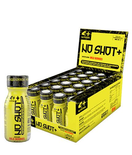 4-nutrition NO SHOT+ / 24x40ml