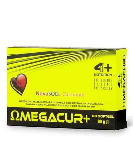4-nutrition Omega CUR + / 60 Softgels