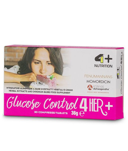 4-nutrition Glucose Control 4 Her + / 30 Tabs