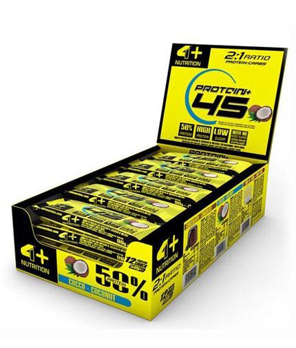 4-nutrition Protein 45 + Bar Box / 12x90g