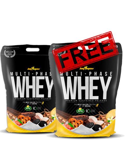 promo-stack Multi-Phase Whey 1+1 FREE