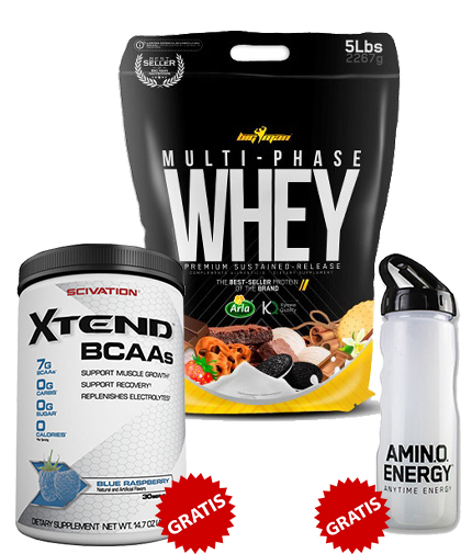 promo-stack PACHET 3 IN 1 XTEND + WHEY