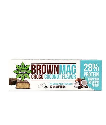 cvetita-herbal BrownMag Bar Coconut Box / 12x60g
