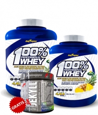 PROMO STACK PACHET WHEY + PRE WORKOUT