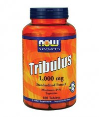 NOW Tribulus Terrestris 1000 mg. / 180 Tabs.