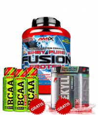 PROMO STACK 3 IN 1 WHEY+BCAA+PRE WORKOUT