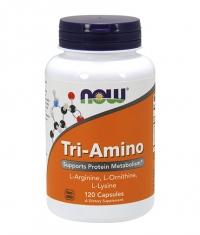 NOW Tri-Amino 120 Caps.
