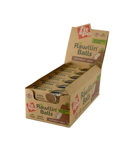 fit-spo Rawllin' Balls Box / 12x48g