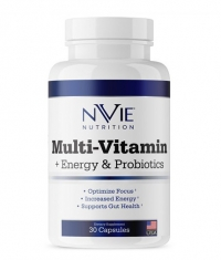 NVIE NUTRITION Multi Vitamin + Energy and Probiotic / 30 Caps