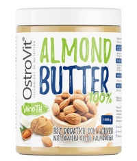 OSTROVIT PHARMA 100% Almond Butter Smooth