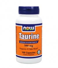 NOW Taurine 500mg. / 100 Caps.