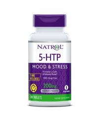 NATROL 5-HTP 200mg Time Release / 30 Tabs