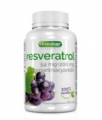 QUAMTRAX NUTRITION Resveratrol + Proanthocyanidin / 60 caps