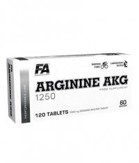 FA NUTRITION Arginine AKG / AAKG 1250mg / 120 Tabs