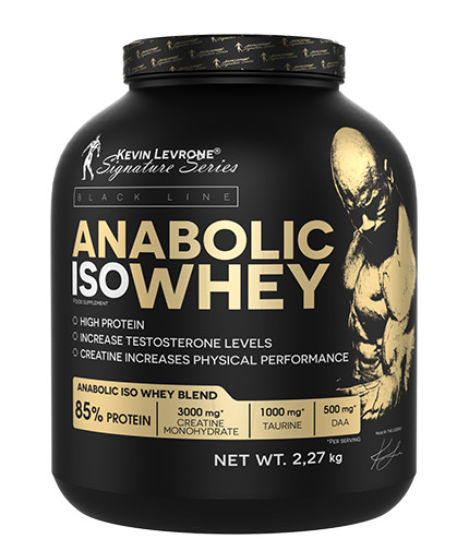 kevin-levrone Black Line / Anabolic ISO Whey