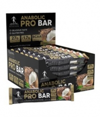 KEVIN LEVRONE Black Line / Anabolic Pro / Protein Bar Box / 24x68g
