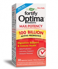 NATURES WAY Fortify Optima Max Potency 100 Billion Probiotic / 30 Vcaps